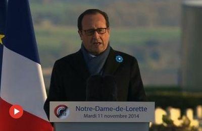 Interview du président de la République à « la Voix du Nord » le 11 novembre 2014
