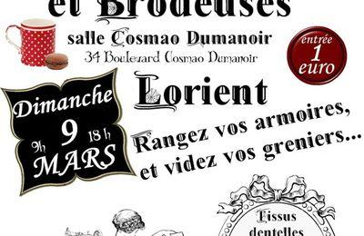 Les 1ères puces de couturières à Lorient !