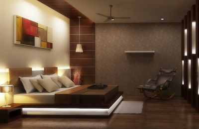 Charming bedroom 3D visualizer