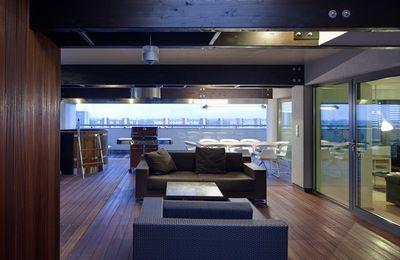 Design terrasse couverte extérieure