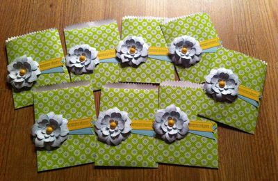 Pochettes cadeaux  Stampin'up!
