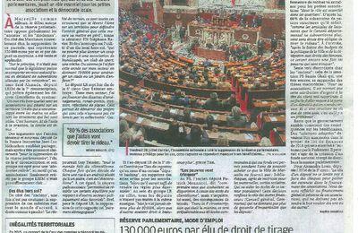 Fin de la réserve parlementaire - Ce que les associations vont perdre.