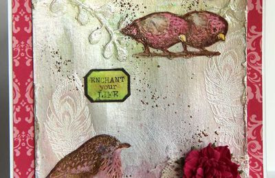 Mixed Media_Carte_Enchant your life