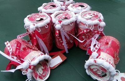 Les canettes de Noël 2012