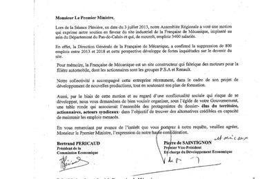 Emploi: Grande inquiètude de la CGT à la  Française de mécanique à Douvrin