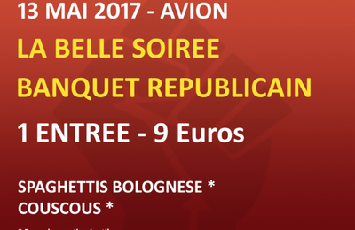 Avion: Grand meeting des communistes du 62
