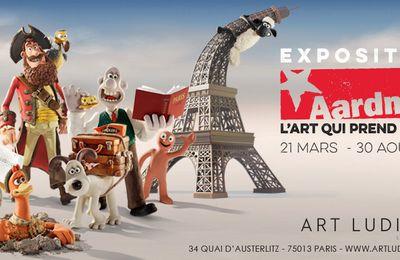 Exposition Aardman L'art qui prend forme, à Art Ludique - Le Musée