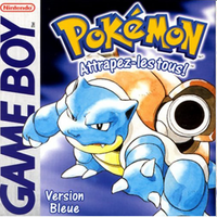 Pokémon version bleue (1996, Game Freak)