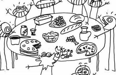 """A vos agendas : Repas """"Auberge espagnole """" le jeudi 30 mars en classe."""
