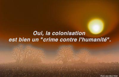 """Oui, la colonisation est bien un """"crime contre l'humanité"""""""