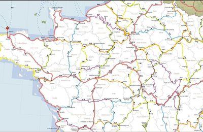 En France, le réseau des véloroutes et voies vertes ne cesse de s'étendre