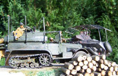 Un nouveau diorama WW 2 avec une P19 porte canon Citroën Kégresse