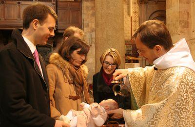 Prière des parents pour préparer le baptême...