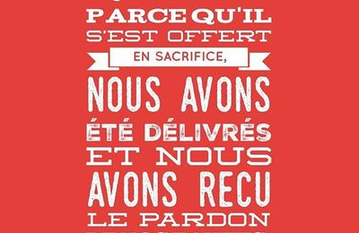 Le temps du sacrifice…