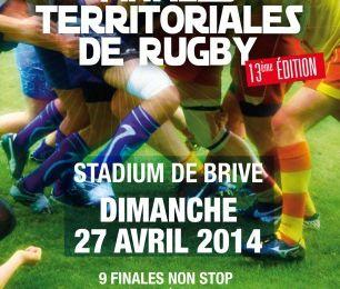 13ème édition des Finales Territoriales aura lieu le dimanche 27 avril au Stadium de Brive