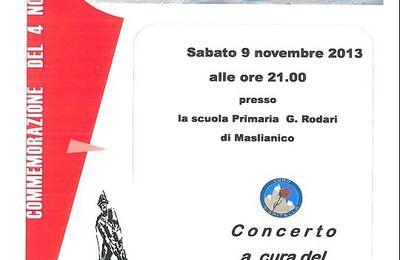 Il Coro Nigritella a Maslianico.