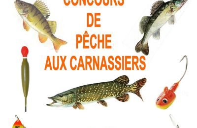 Concours Pêche Carnassier 2016
