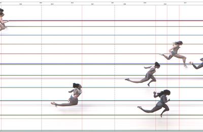 Naomie 5eme au Campionnat de Belgique au 200m en 24sec25