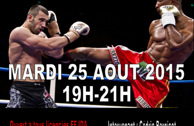 Stage d'initiation au kick boxing