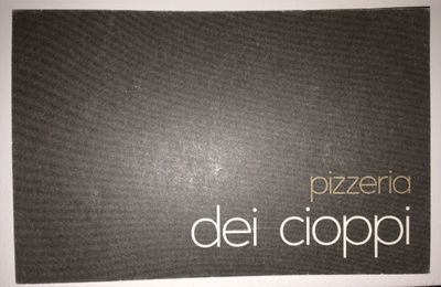 LA pizza au TOP c'est CIOPPI !