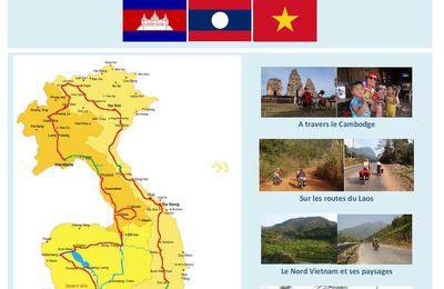 Inscriptions Diaporama Voyage Vélo Cambodge Laos Vietnam le vendredi 20 Novembre 2015 20h30 Amphi Lycée Jean XXIII LES HERBIERS