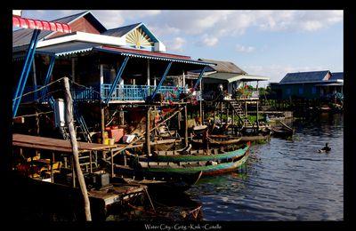 Kompong Phluk - Village flottant cambodgien