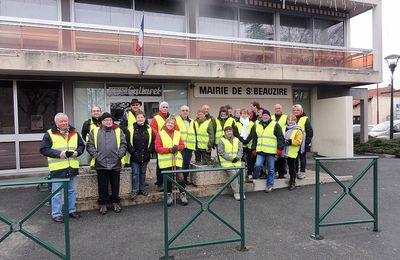 Marche Balinzat à St Beauzire.