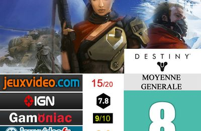 [Revue de test] DESTINY [Test express]