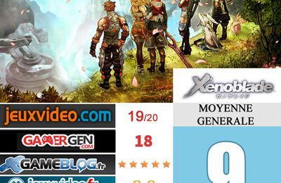 [Revue de test] XENOBLADE CHRONICLES
