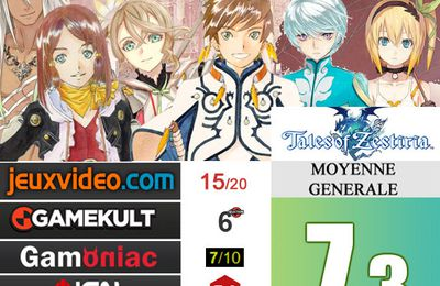 [Revue de test] TALES OF ZESTIRIA