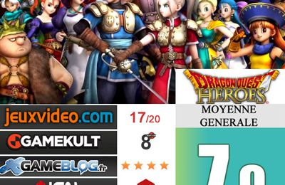 [Revue de test] DRAGON QUEST HEROES
