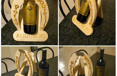 Porte bouteille Audubois