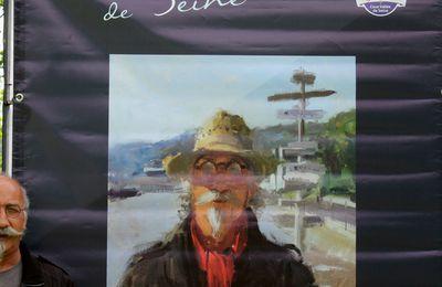 """Pascal Levaillant figure dans """"Esprit(s) de Seine"""" d'Olivier Desvaux, exposition labellisée Normandie Impressionniste - été 2016 -  Villequier et Abbaye de Gruchet-le-Valasse"""