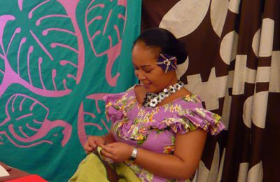 Salon du tifaifai 2013, n°2 / Traditional Tahitian patchwork show, part2