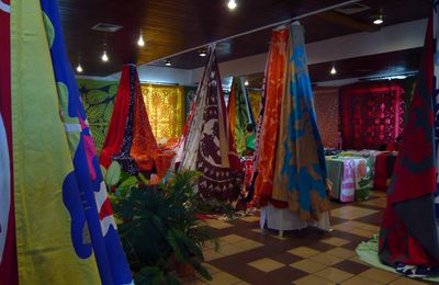 Salon du tifaifai 2013, n°4 / Traditional Tahitian patchwork show, part4