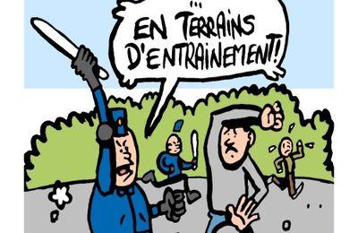 Calais: Réhabilitation des terrains de la jungle
