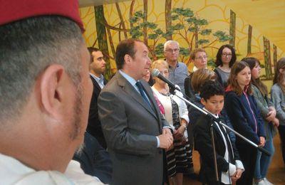 Cérémonie de commémoration du 72ème anniversaire de la victoire de 1945 à St Aubin de Médoc (2)