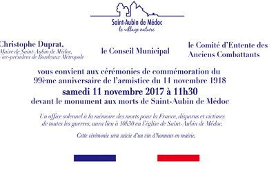 99 ème anniversaire à St Aubin de Médoc