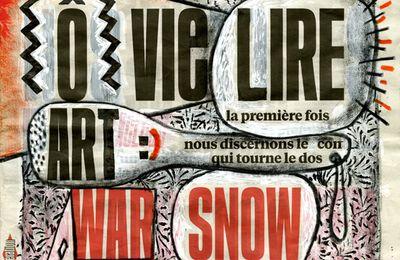 Edward Snowden remixé à la Une de Libé