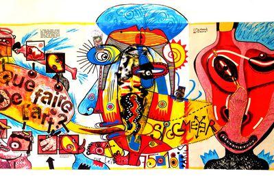 """Oeuvres postales : que faire de l'art ? """"Le noeud de Tawara"""""""