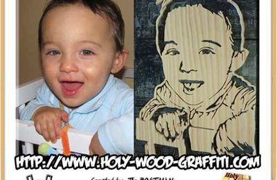 Portrait personnalisé d'un bébé : Un cadeau original.