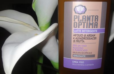 Skincare Review PLANTA OPTIMA latte detergente all'olio di argan e alfaidrossiacidi di frutta