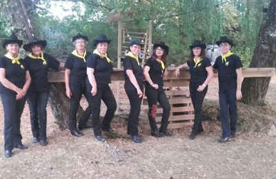 SCHERZO COUNTRY DANCERS : ANIMATION POUR UN MARIAGE COUNTRY SEPTEMBRE 2016