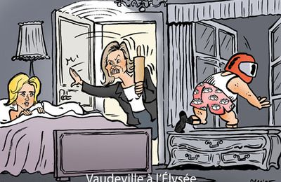 Mais avec qui est donc le Président Hollande ? Abracadabra !