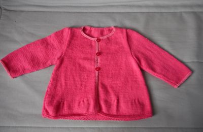 Cardigan fille 12 mois