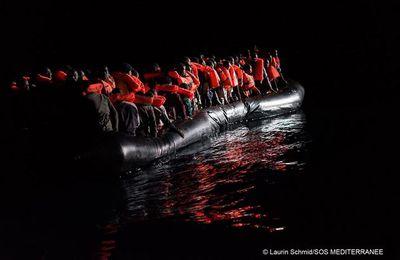 Nul ne peut imaginer ce que les migrants vivent ici en Méditerranée, aux frontières de l'humanité