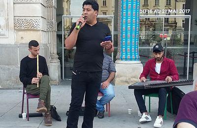 Angers : concert et actions de solidarité avec les prisonniers palestiniens en grève de la faim