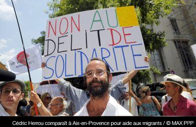 Aide aux migrants : jugé en appel, Cédric Herrou estime 'faire le travail de l'Etat'