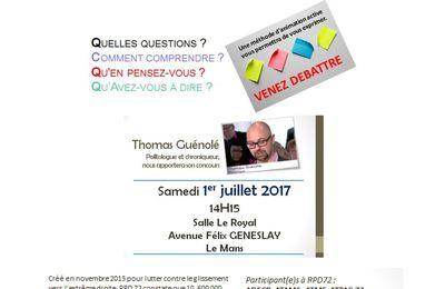 """IVèmes Etats Généraux du collectif """"Réagir pour la Démocratie"""""""