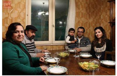 Mohamad et sa famille, réfugiés syriens, ont trouvé la paix à  Saint-Mathurin